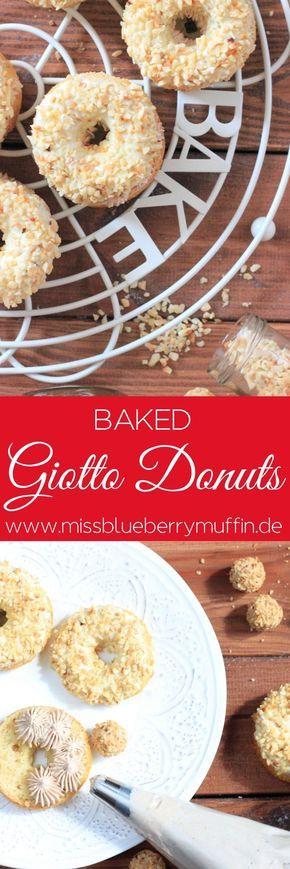 Rezept für Giotto Donuts aus dem Backofen // Baked Giotto Donuts recipe♥