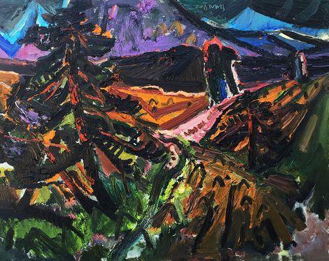 Chenminghua, The tree hill  on ArtStack #chenminghua #art