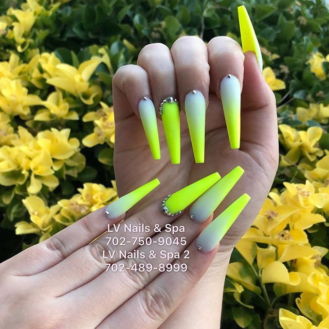 New The 10 Best Nail Ideas Today With Pictures Eden Acrylic Powder Glow In The Dark Acrylic Thank You For Your Supp Nail Spa Fun Nails Acrylic Powder