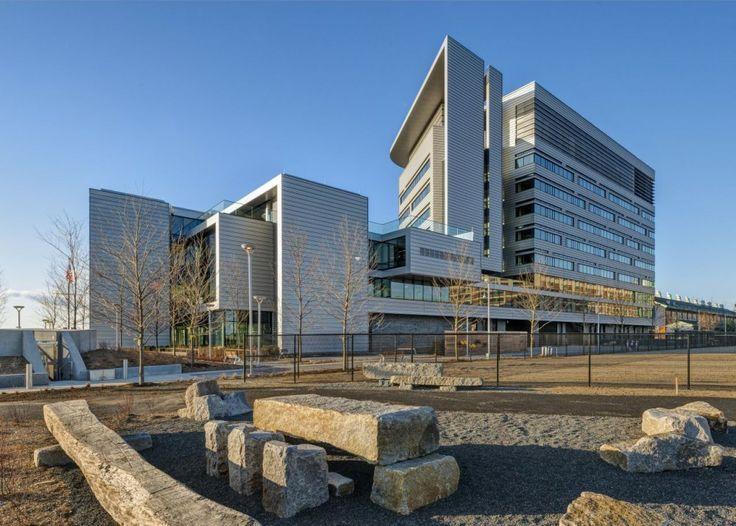 Spaulding Hospital by Perkins+Will, Charlestown, Boston, Massachusetts, USA - 2013.