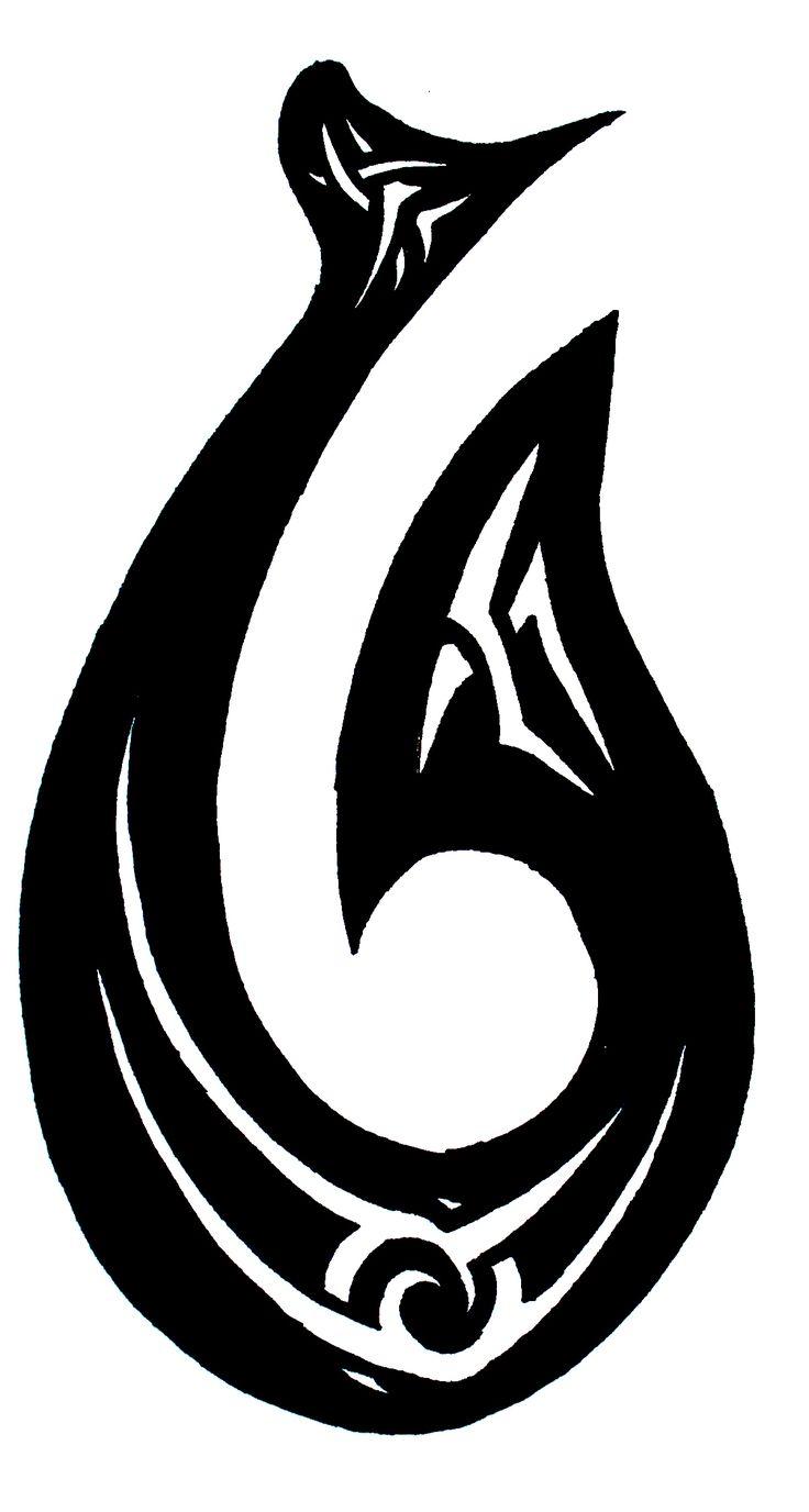 cool tribal water symbol