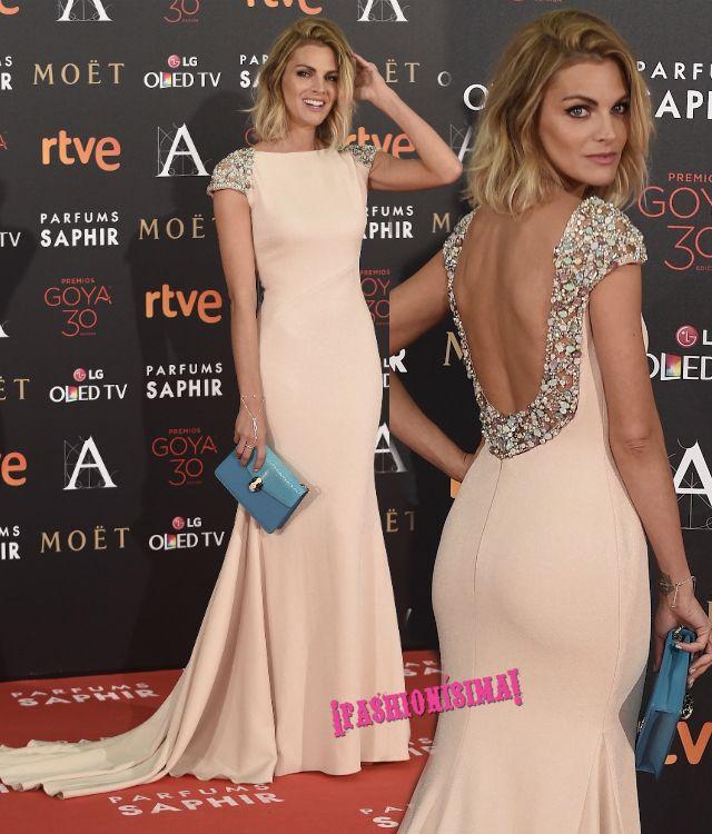 Amaia Salamanca_PronoviasFiesta2017 goya alfombra roja fashionisima