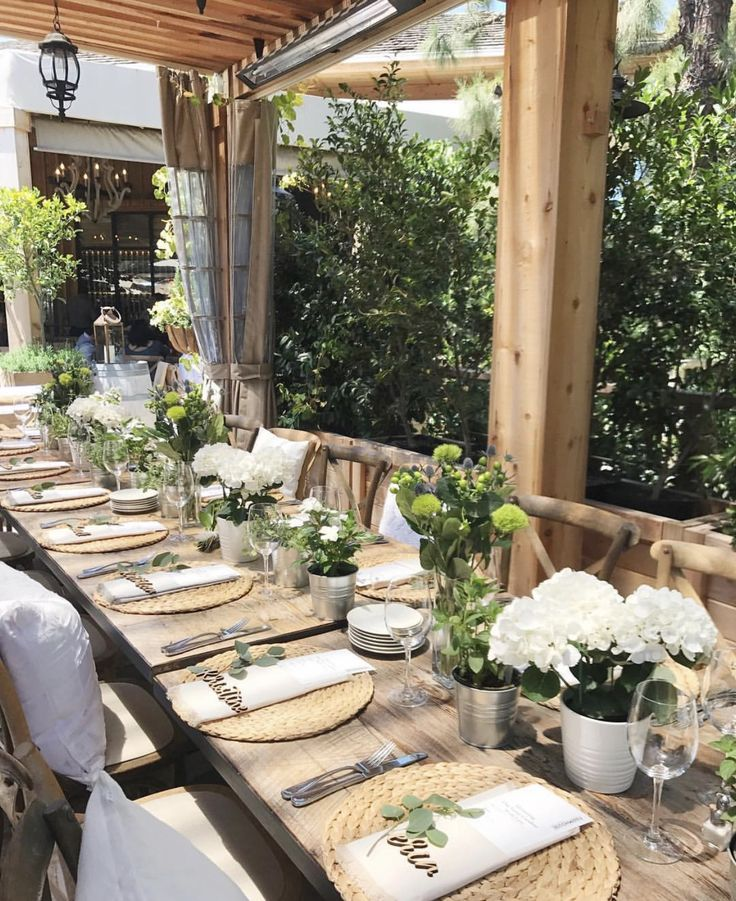 Pin by Andrea Tavío on Party O'Clock! Summer tablescapes