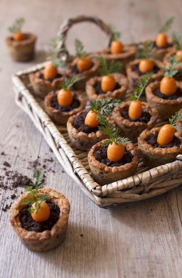 GALLETAS DE ZANAHORIA (Carrot cookies pot) #RecetasParaPascua #RecetasOriginales #RecetasDivertidas
