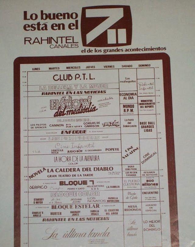 SANTO DOMINGO | Galería de Imágenes del Ayer - Page 52 - SkyscraperCity  Horario Programación Rahintel (Canal 7)  La Caldera del Diablo (Peyton Place) es una serie de 1964. El nombre Mia Farrow se puede observar en los creditos del protagonista.