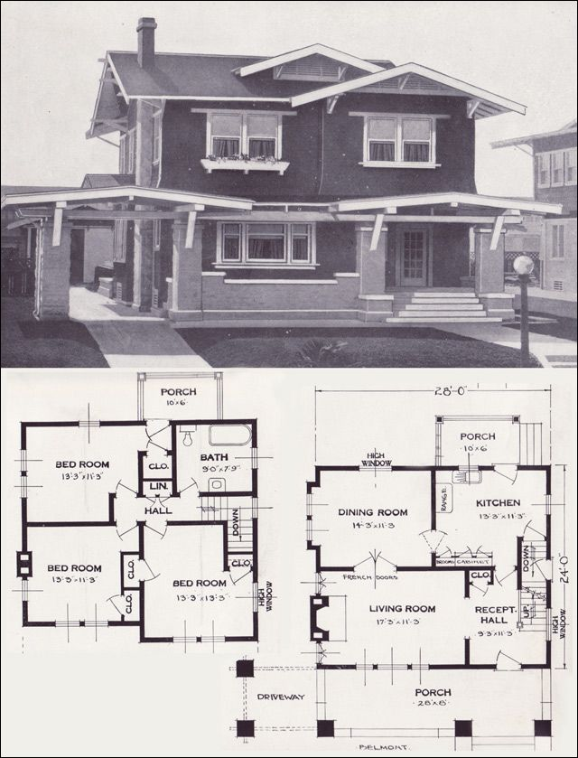 1923 Standard Homes Company The Belmont Notice How Each
