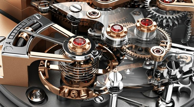 """Christophe Claret Maestoso Watch With Detent Escapement - by Ariel Adams - See more on aBlogtoWatch.com """"Quite remarkably Christophe Claret has released a watch that 'merely' tells the time. Yes, it is true, while the new for 2014 Maestoso is anything but a simple watch, its only indications are the hours and minutes. That is kind of a big deal from a man who finds standard minute repeaters and tourbillons to be more or less passe..."""""""