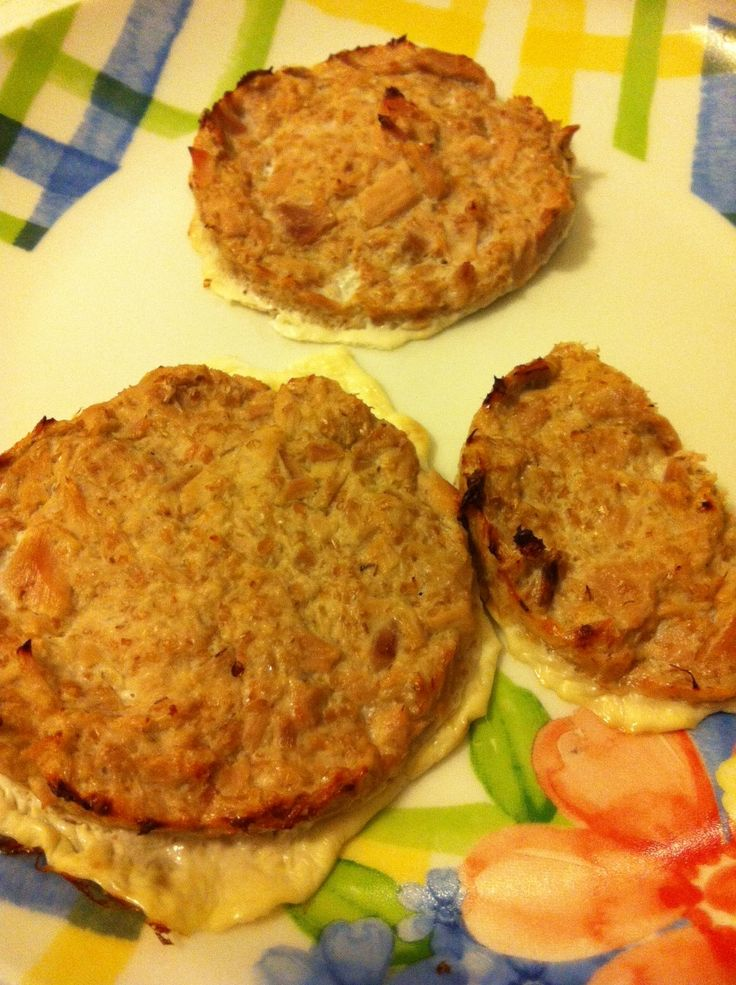 Hamburger Dukan di tonno, ricetta light