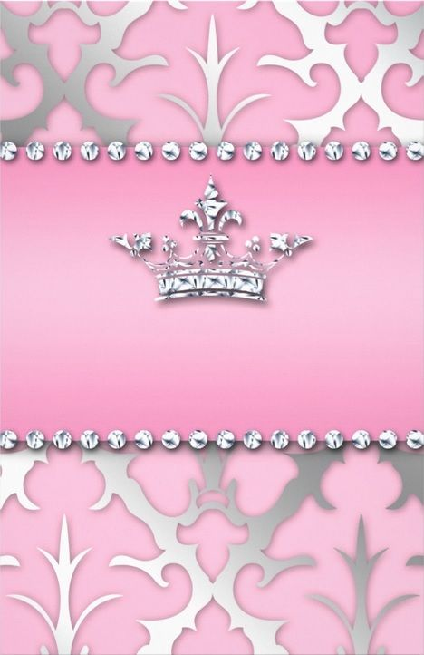 silver crown on pink - uploaded by Lynn White