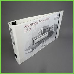 11 X 17 View Binder Landscape 11x17 Clearview Binder White Zen 11x17 Landscape Zen