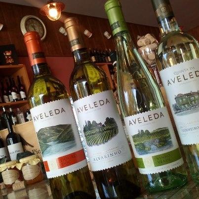 Vinho Verde from Quinta da Aveleda. #wine