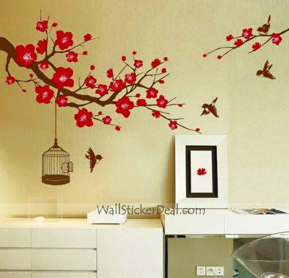 9 best 6 Ft. Tree Wall Decal images on Pinterest | Murals, Stickers ...