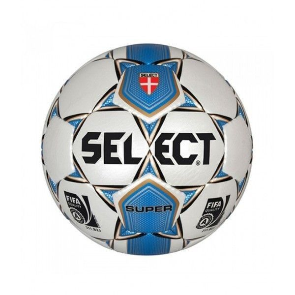 Piłka nożna Select Super FIFA 5 Approved. Piłka Super Select do rozgrywania meczy ligowych oraz gry treningowej. Znakomite parametry, wytrzymałość i stabilność w locie to cechy, dzięki którym sprawdzi się na każdym poziomie zaawansowania. #pilkanozna #sportyduzynowe
