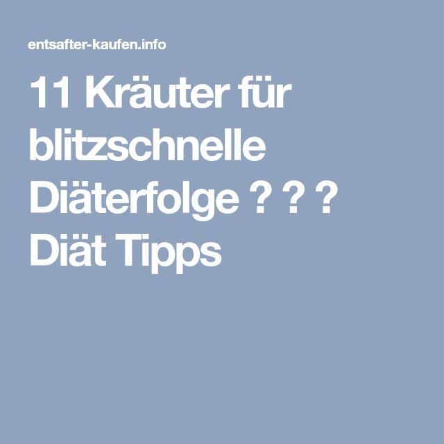 11 Kräuter für blitzschnelle Diäterfolge ♠ ♣ ♧ Diät Tipps