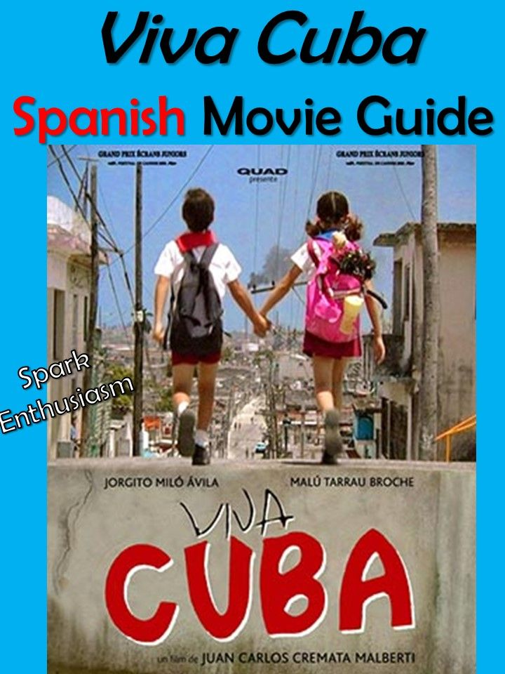 This Spanish Movie Guide And Cuba Unit Includes Excellent