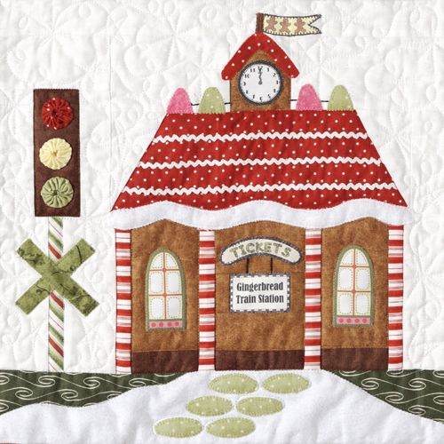 Amy Bradley Designs Gingerbread Houses: 103 Best House Quilts Images On Pinterest
