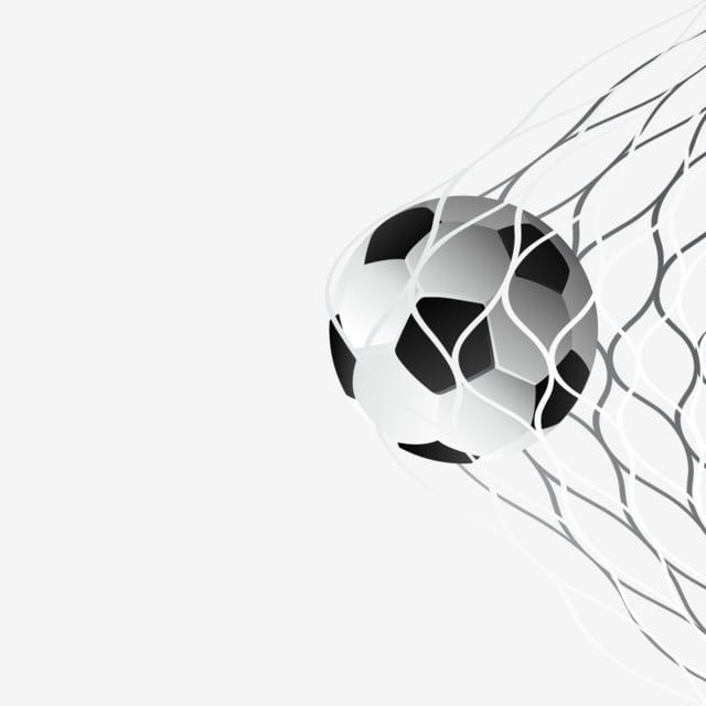 Soccer Ball In Goal Net Vector Png Free Download Soccer Football Ball Png And Vector With Transparent Background For Free Download In 2020 Goal Net Soccer Soccer Positions