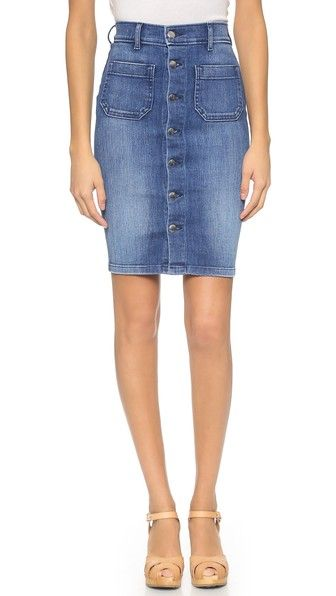 Seafarer Sandy High Waisted Tube Skirt