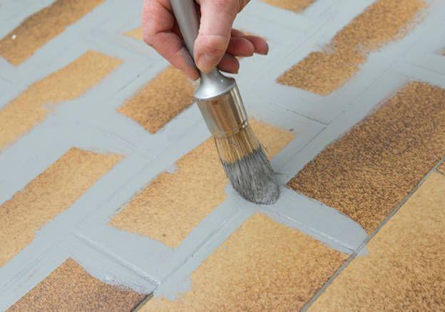 1000 ideas about peinture carrelage sol on pinterest - Peinture sol sur carrelage ...