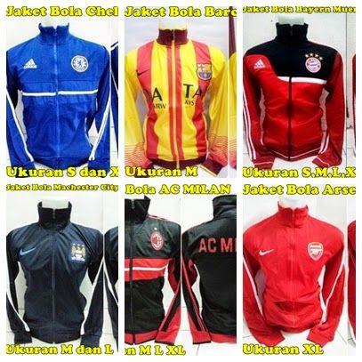 Jaket Bola Murah Untuk ANDA Pecinta Klub Sepakbola Eropa