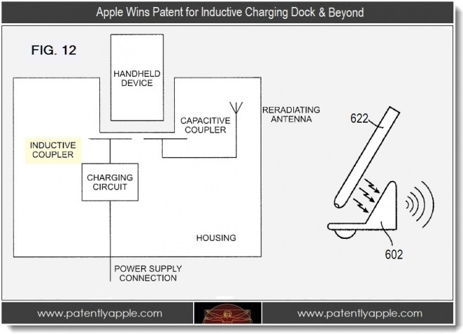 Apple's rumored iOS device inductive charging solution gets pictured in patents