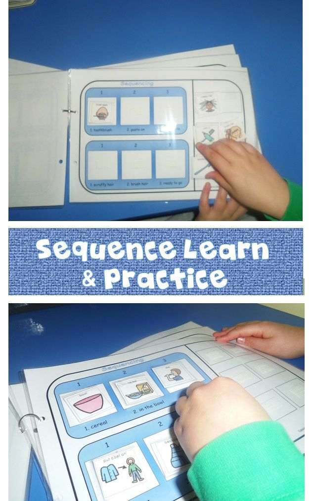 The ability to organise, sequence and prioritise helps us to plan daily activities and manage our time effectively. These activities will offer an opportunity for children with Autism to learn and practice sequencing their personal care skills in a fun way!