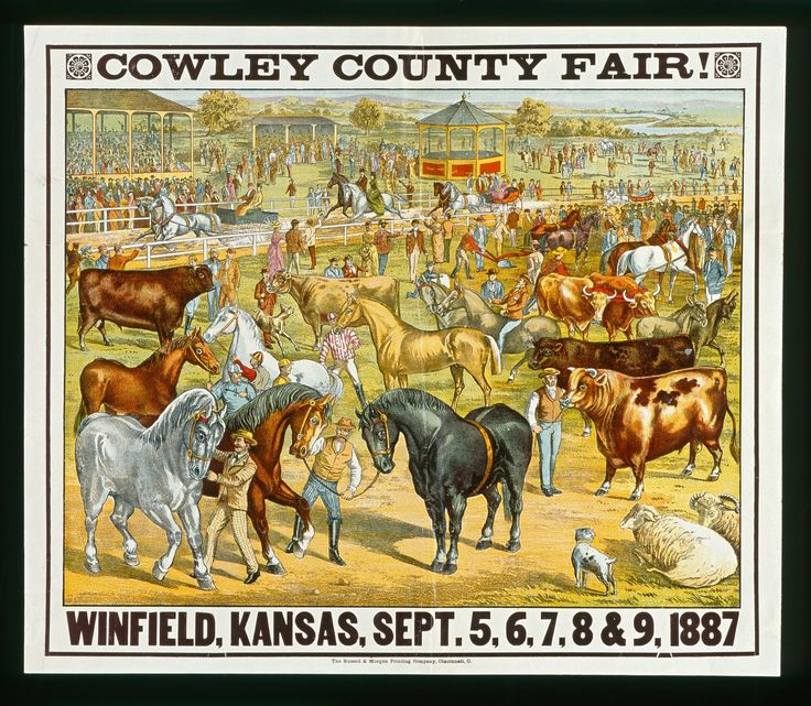 Cowley County Fair Winfield Kansas County Fair Kansas
