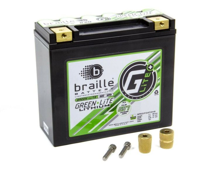 Sponsored Ebay Braille Lithium 12 Volt Battery Green Lite 697 Amps Ebay Battery Braille