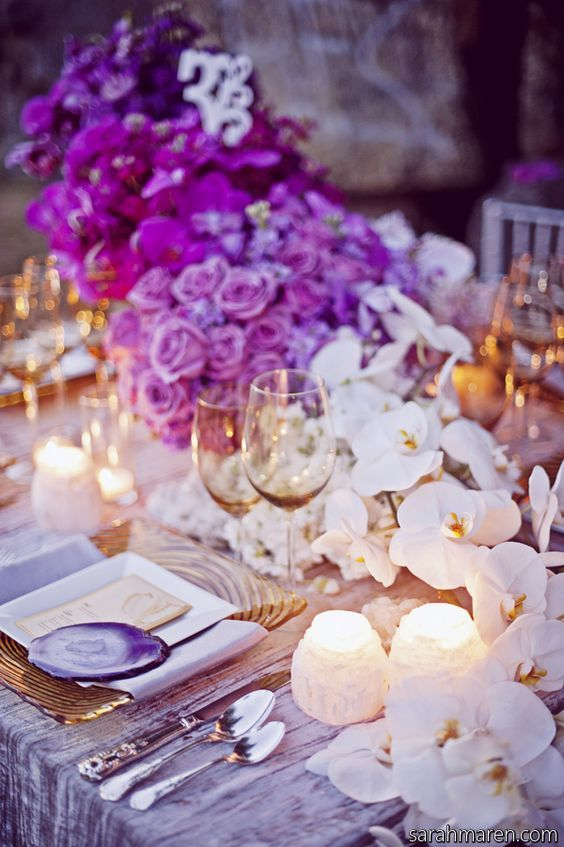 159 best Purple/Plum Weddings images on Pinterest | Lilac wedding ...