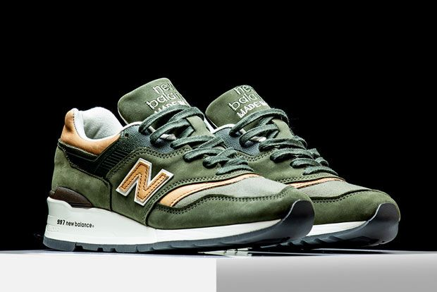 """The New Balance 997returns in a new Made In USA tooling with this casual albeit premium """"Dusty Olive"""" look. New Balance's latest """"Made In USA"""" pack pays homage to the 1950s with a number of rustic brown and amber shades … Continue reading →"""