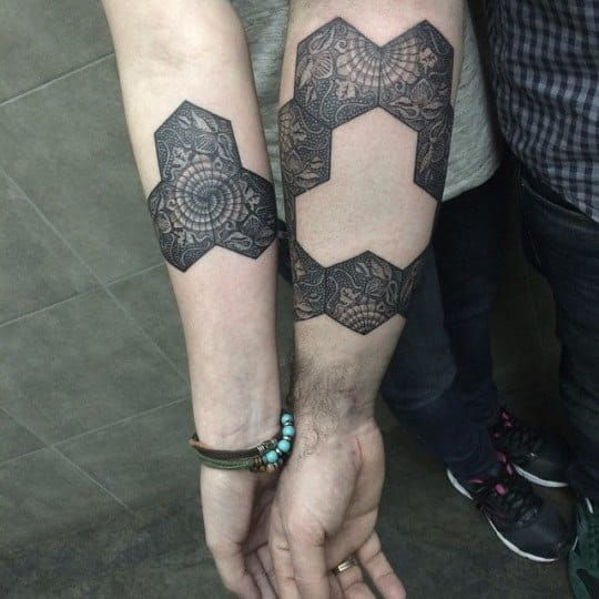 25 Couple Tattoos That Will Make You Forget How Terrible Break-Ups Are