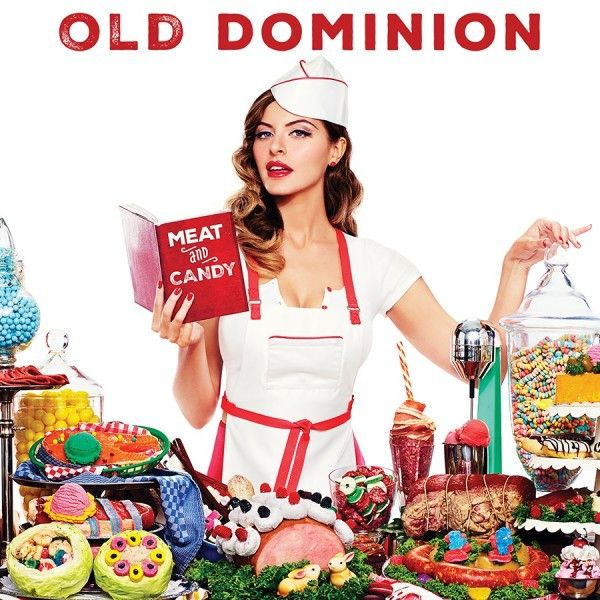 Old Dominion - Meat and Candy on CD 2015 album from the Nashville-based country band comprised of lead singer Matthew Ramsey, multi-instrumentalist Trevor Rosen, drummer Whit Sellers, bassist Geoff Sp