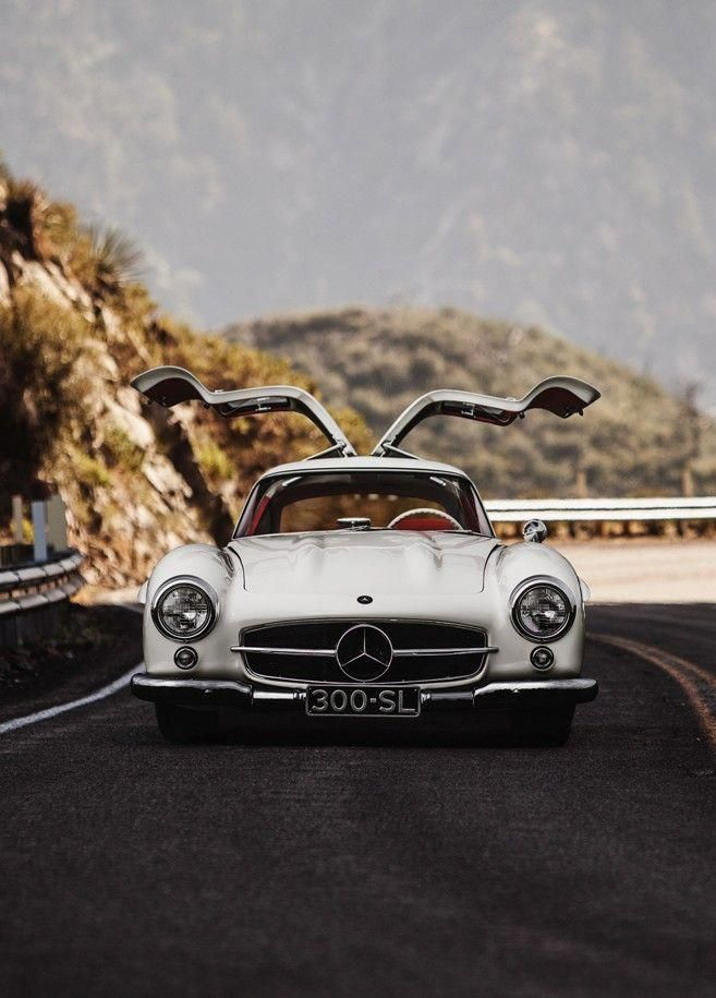 I Want To Drive The Mercedes 300 Sl Around Europe Without A Care