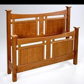 craftsman bed design