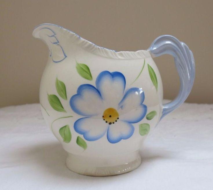 Pretty Vintage Jug by Newhall Pottery, Staffordshire - Diana Shape