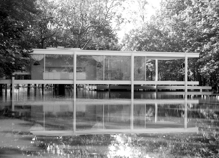 1000+ images about Mies van der ohe-Farnsworth house on Pinterest - ^