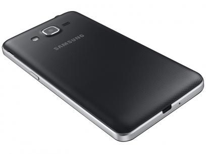 """Smartphone Samsung Galaxy J2 Prime TV 8GB Preto - Dual Chip 4G Câm. 8MP + Selfie 5MP Tela 5"""" qHD com as melhores condições você encontra no Magazine Rodrigosantana21. Confira!"""