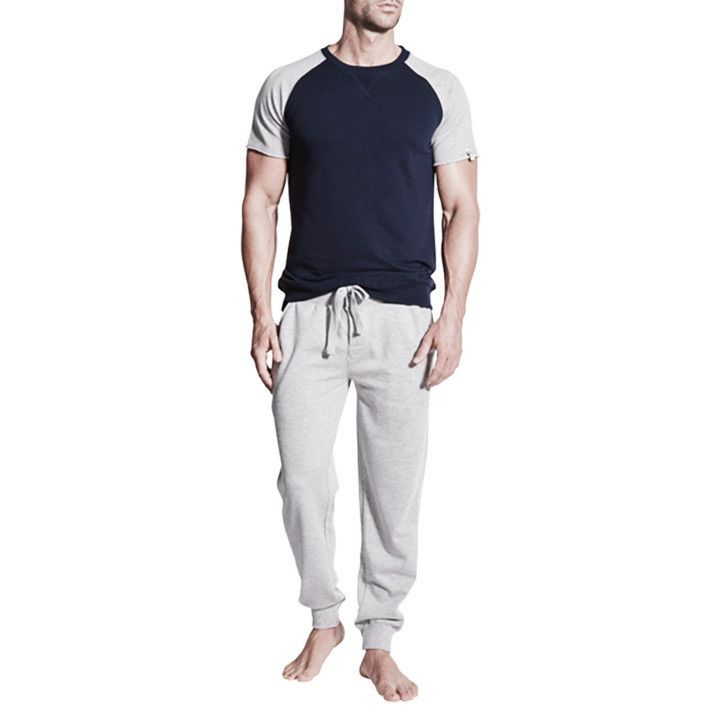 Our Elliott men's track pants are what loungewear is all about. Made from a comfortable French terry blend fabric. Great on guys and girls.