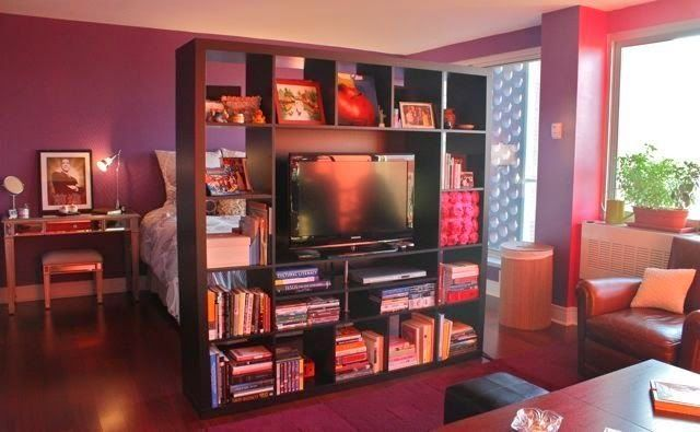 Tiny-Ass Apartment: The divider's afoot: Major footboards that act as room dividers