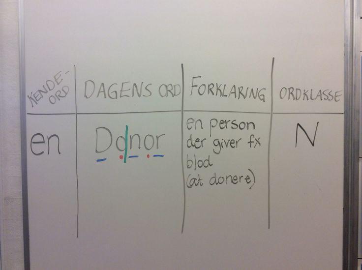 Dagens ord i min 3. klasse ;-)