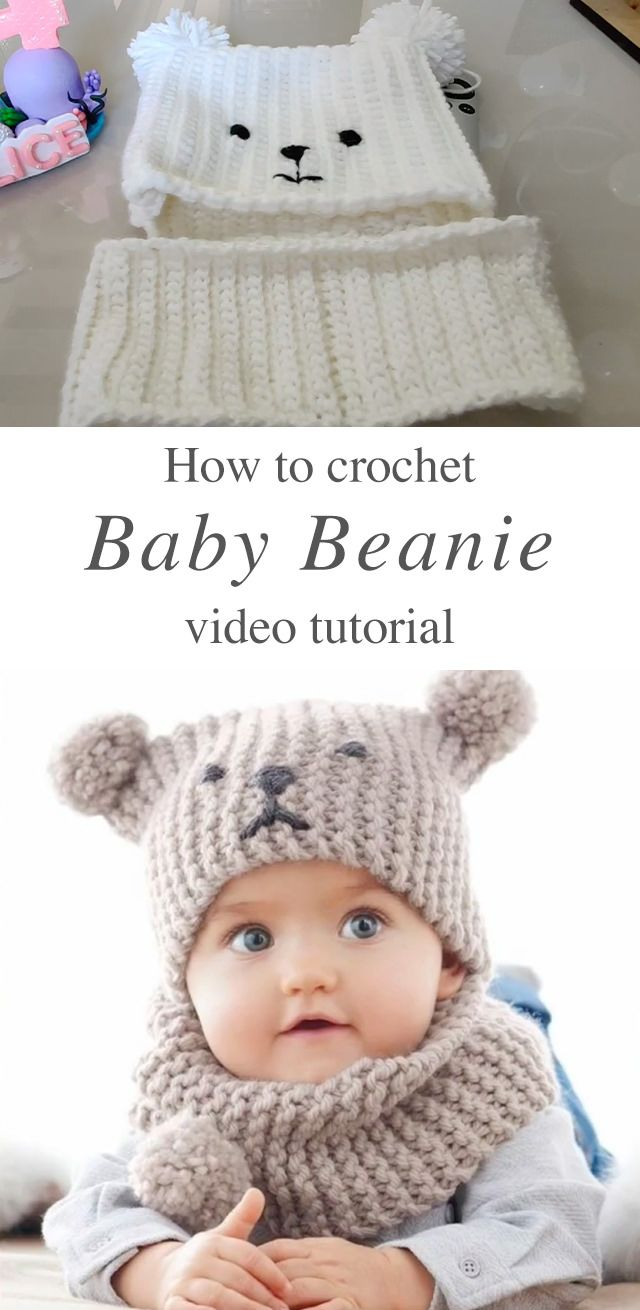 Crochet Baby Hat Anyone Can Make  – Baby und Kleinkind