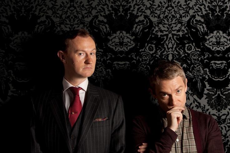 John mirroring Sherlock ;)