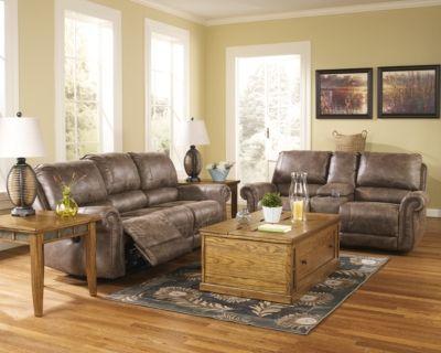 Gunsmoke Oberson Reclining Sofa View 3 Reclining Sofa