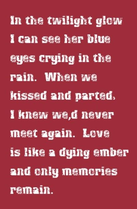 Willie Nelson - Blue Eyes Crying In the Rain - song lyrics, song quotes, music lyrics, music quotes, songs