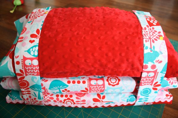 Need to make a nap mat- and this is a cute one. Seems a little hot though.