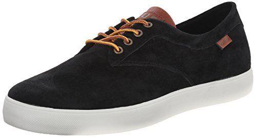 HUF Skateboard Shoes SUTTER BLACK/TAN Size 8.5 - http://on-line-kaufen.de/huf/8-5-d-m-us-huf-skateboard-shoes-sutter-black-tan