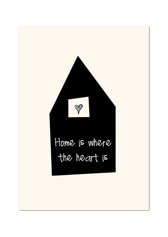 Home is where your heart is download printable by lebonvintage, $2,00