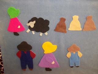 What is Bridget Reading?: #FlannelFriday: Baa, Baa, Black Sheep