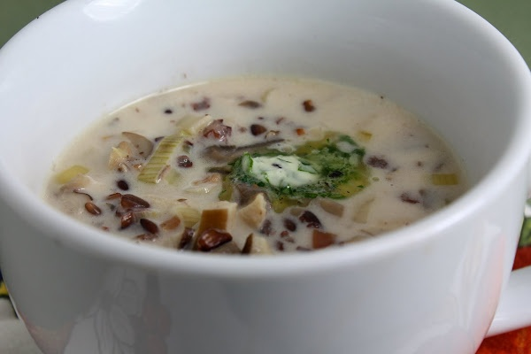 Wild Rice and Mushroom Soup | Soups & Stews | Pinterest