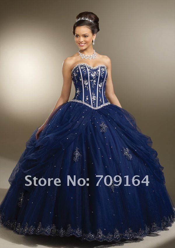 9 best images about navy blue quince dresses on Pinterest | Sweet ...